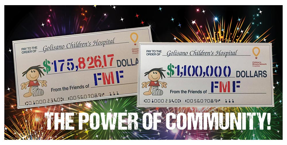 2016 Grand Totals - Power of Community