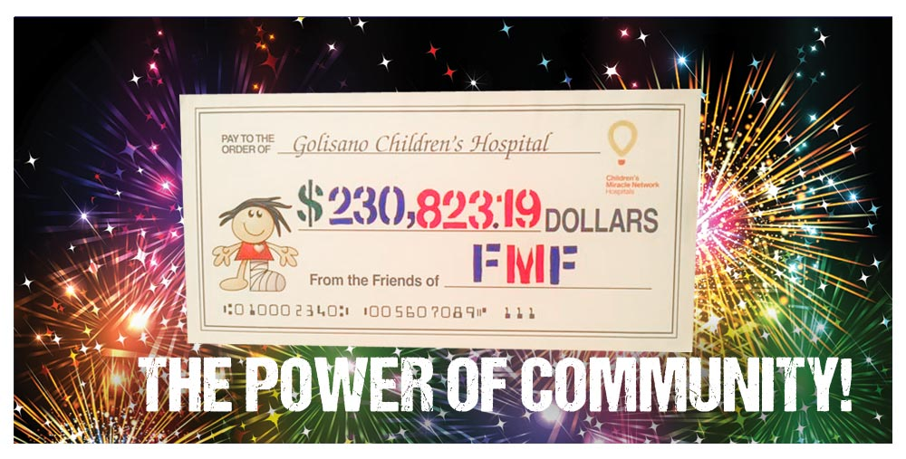 2018 Grand Totals - Power of Community